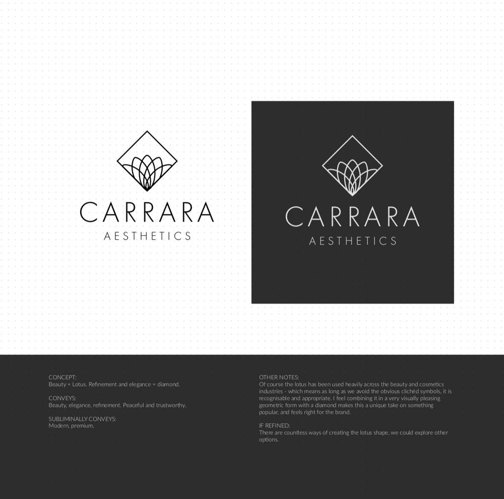Brand Identity Design: Carrara Aesthetics - image 16 - student project