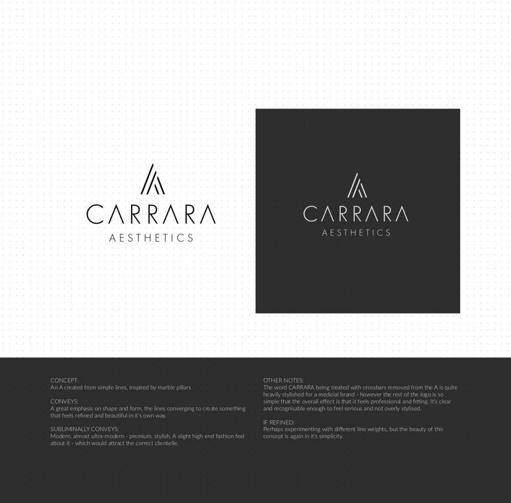 Brand Identity Design: Carrara Aesthetics - image 13 - student project