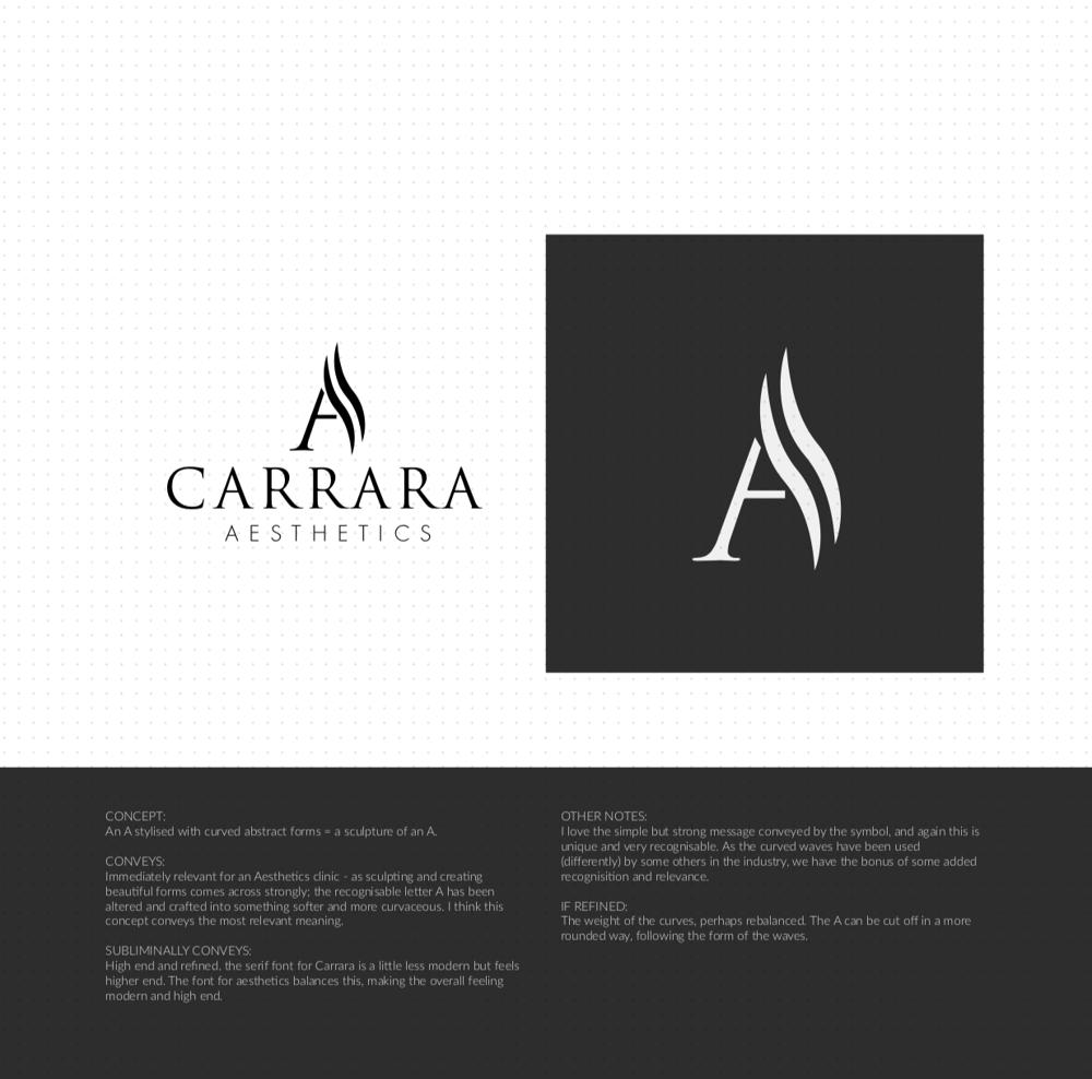 Brand Identity Design: Carrara Aesthetics - image 14 - student project