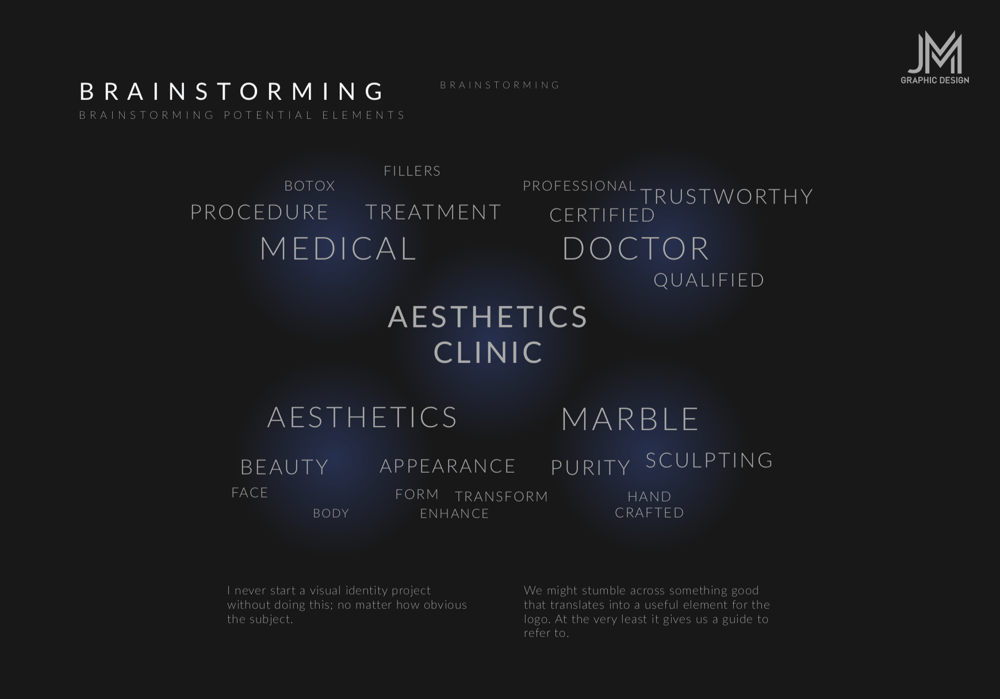 Brand Identity Design: Carrara Aesthetics - image 7 - student project