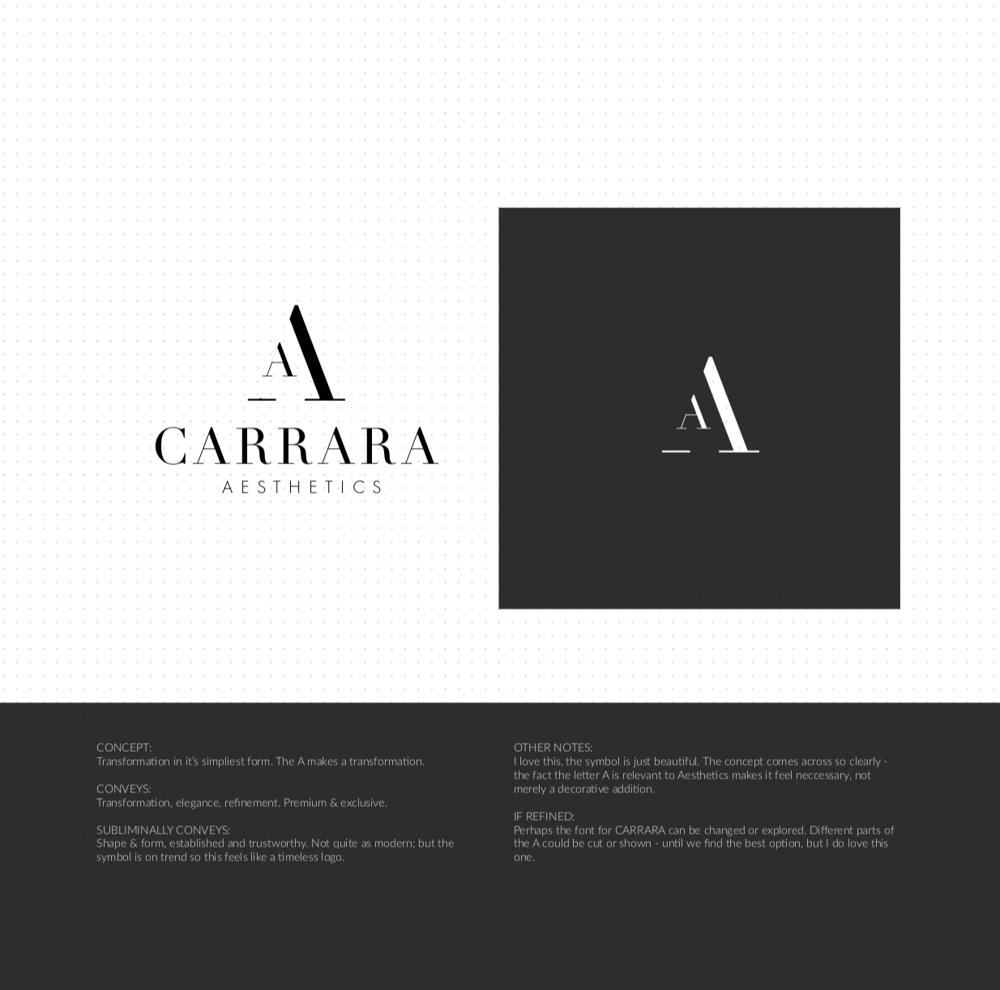 Brand Identity Design: Carrara Aesthetics - image 15 - student project