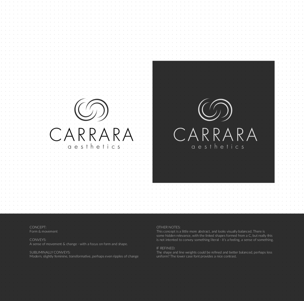 Brand Identity Design: Carrara Aesthetics - image 17 - student project