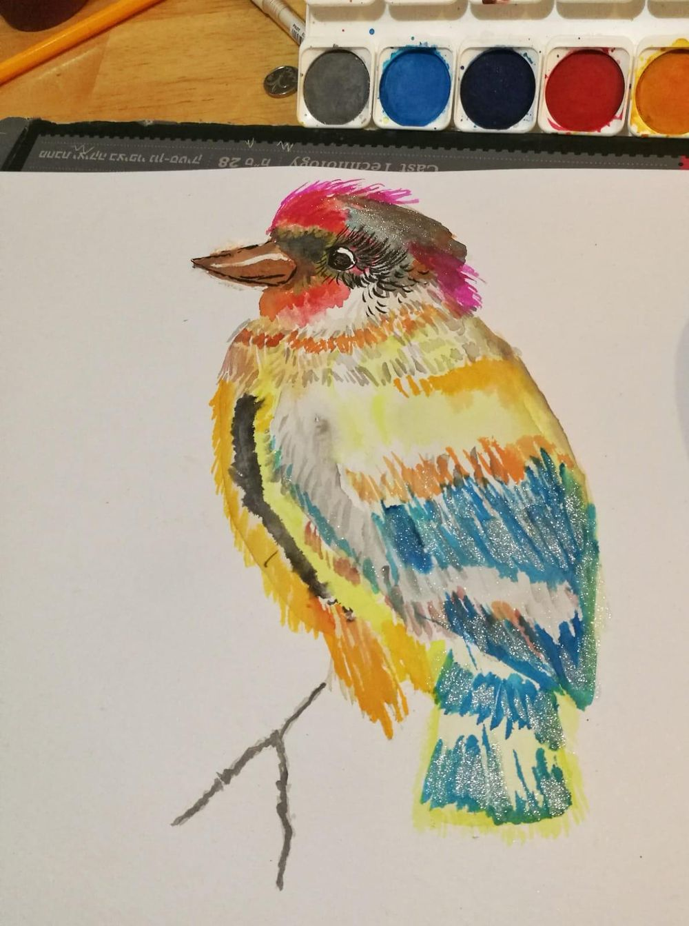 Sparkly Bird! - image 1 - student project