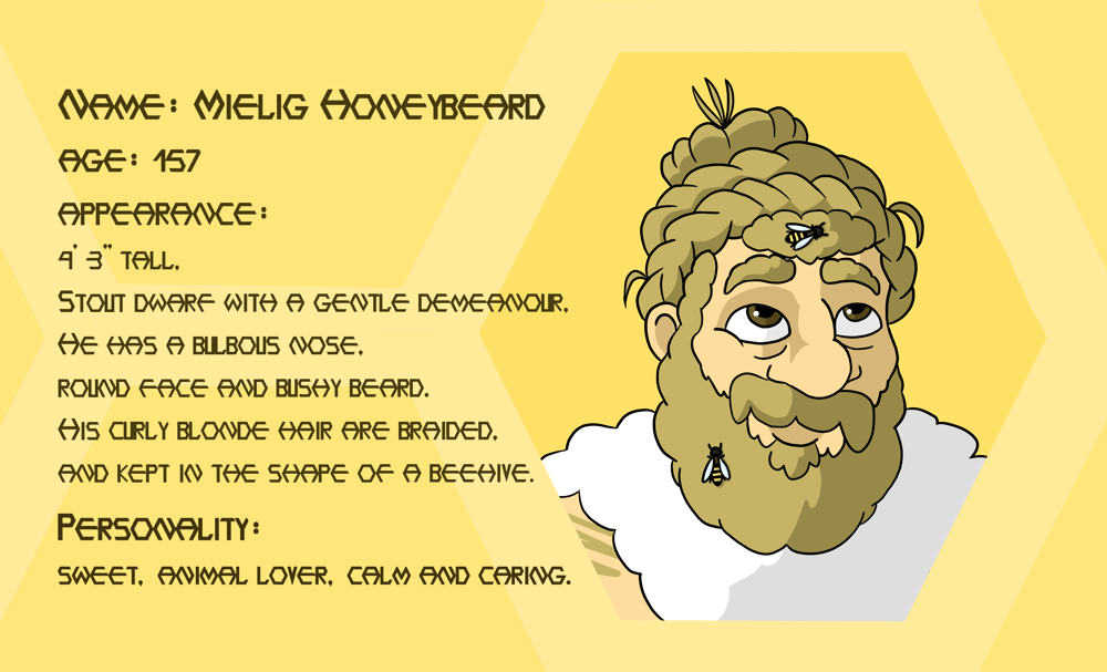 Mielig Honeybeard - image 3 - student project