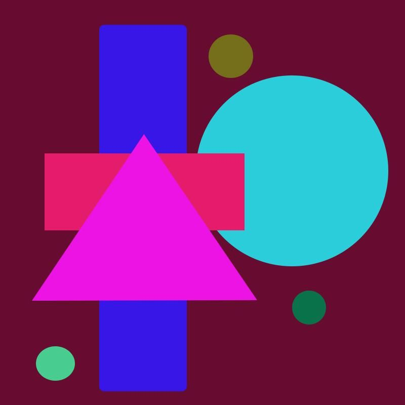 Shapes Collage - image 1 - student project