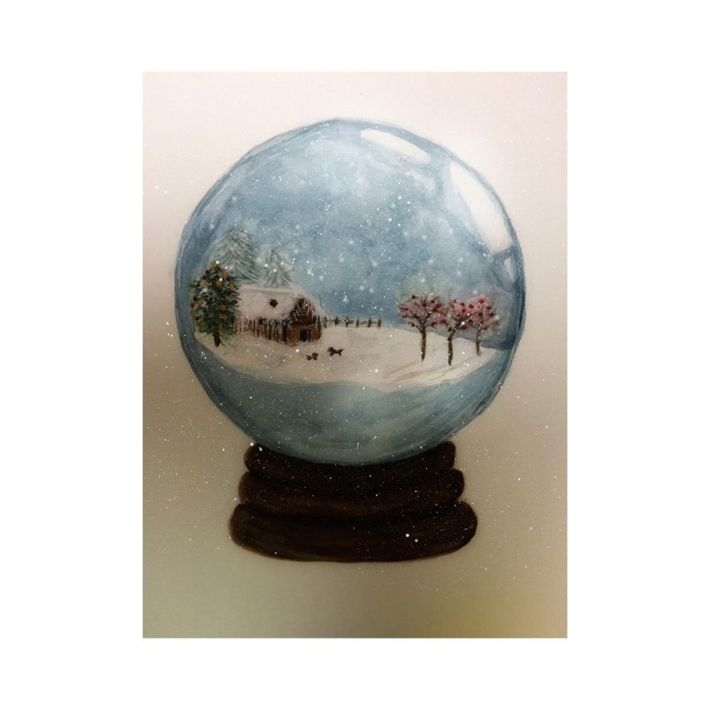 Snow globe class - image 1 - student project