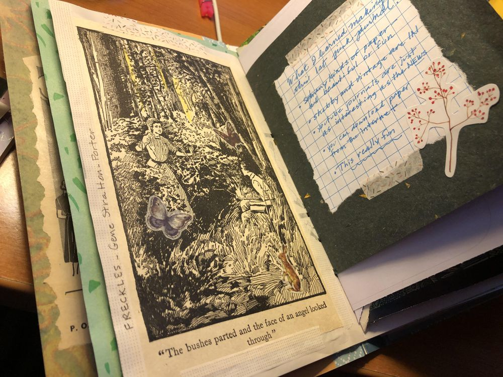 1st junk journal - image 1 - student project
