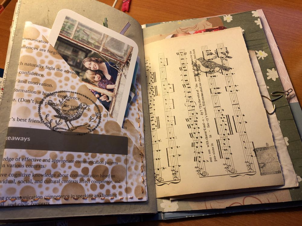 1st junk journal - image 2 - student project