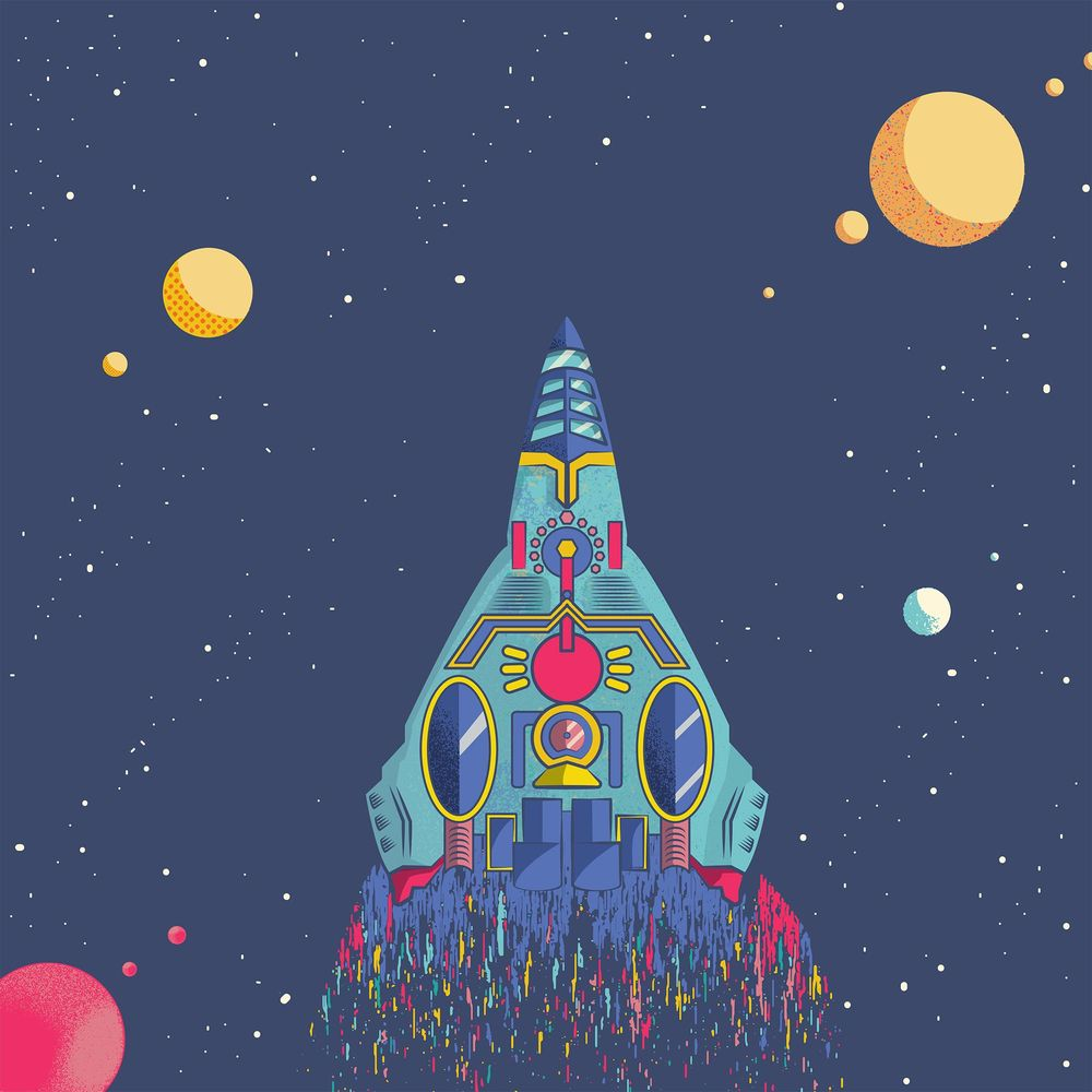 Space Rocket - image 1 - student project