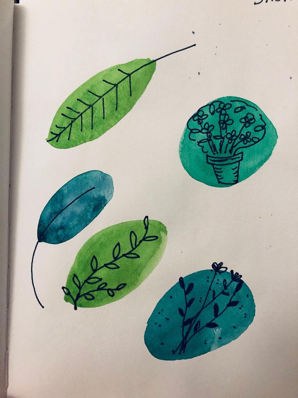 Exploring sketchbooks - image 2 - student project