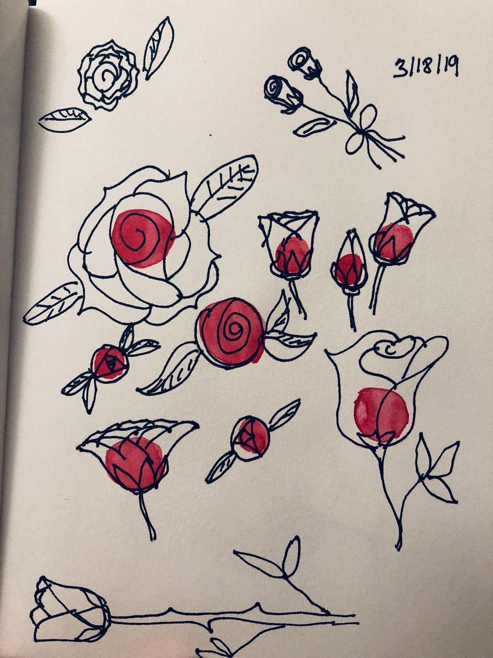 Exploring sketchbooks - image 1 - student project