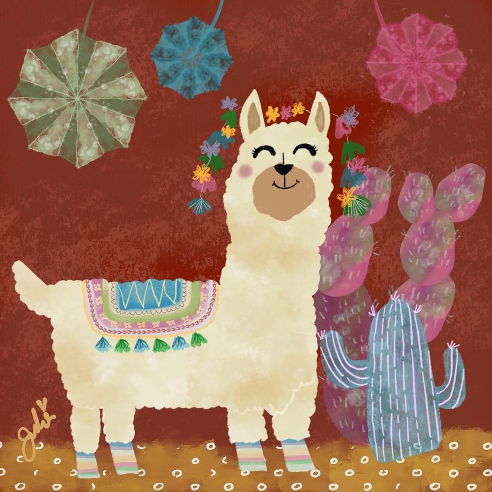 Llamas, Cacti and Piñatas - image 1 - student project