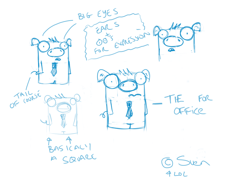 Sara's scribbles comic project - image 1 - student project