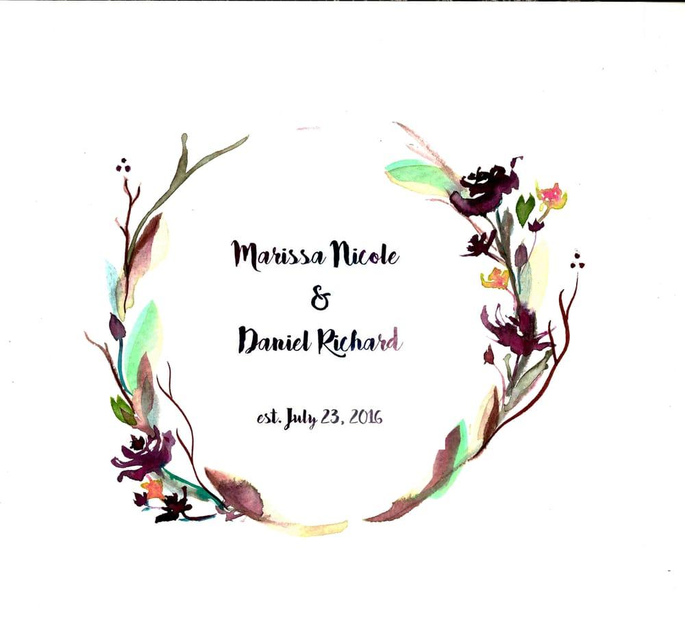 Wedding Wreath - image 1 - student project