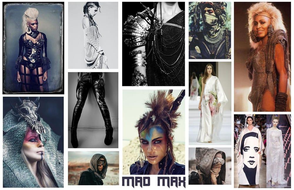 Mad Max Mood Board & Inspo Board - image 2 - student project