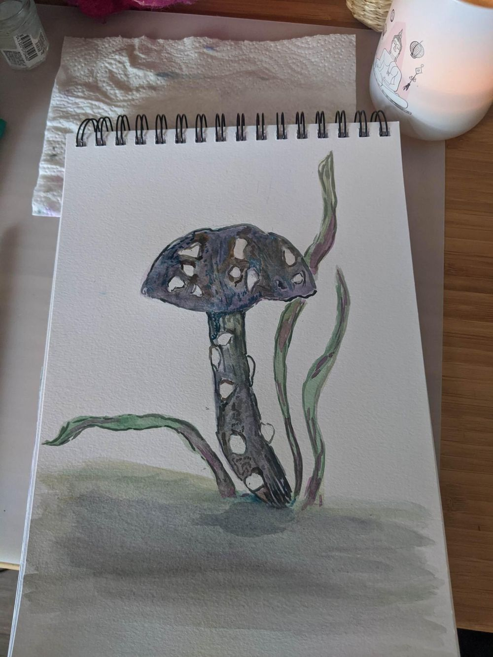 Watercolour in the woods, by Olivia - image 2 - student project