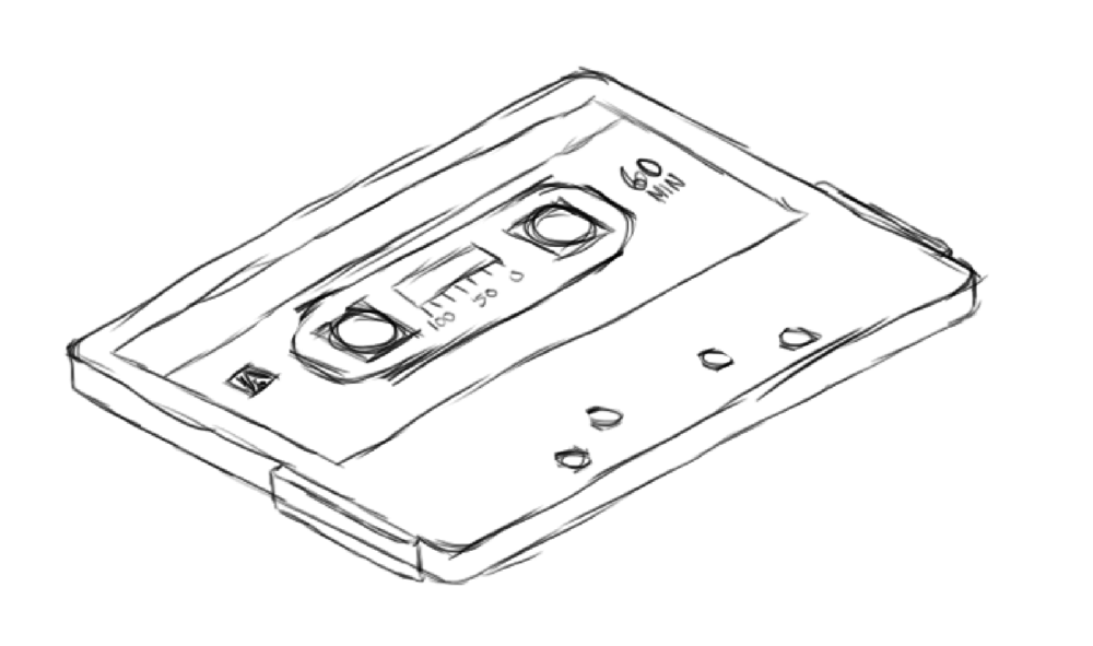 Isometric Cassette - image 1 - student project