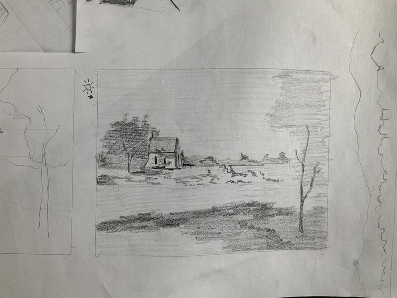 Watercolor Process