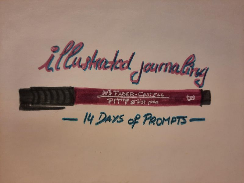 14 Day of Prompts - Re-discovering my creativity