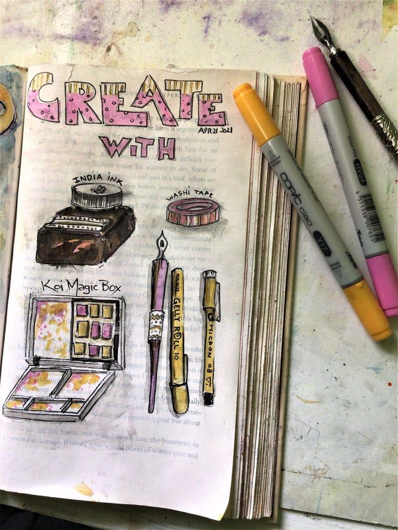 Illustrated Journaling - 14 days