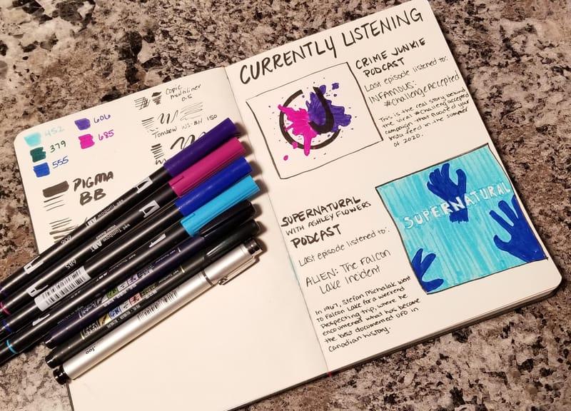 Illustrated Journaling