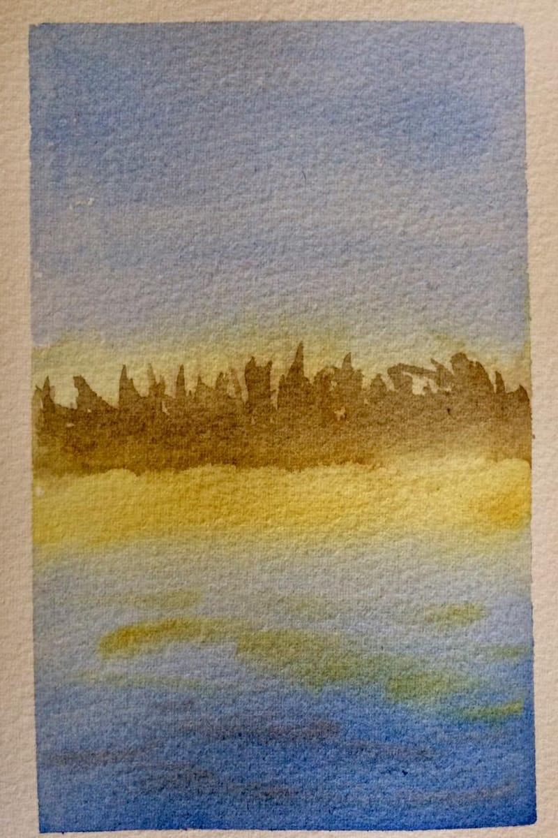 August Watercolour School