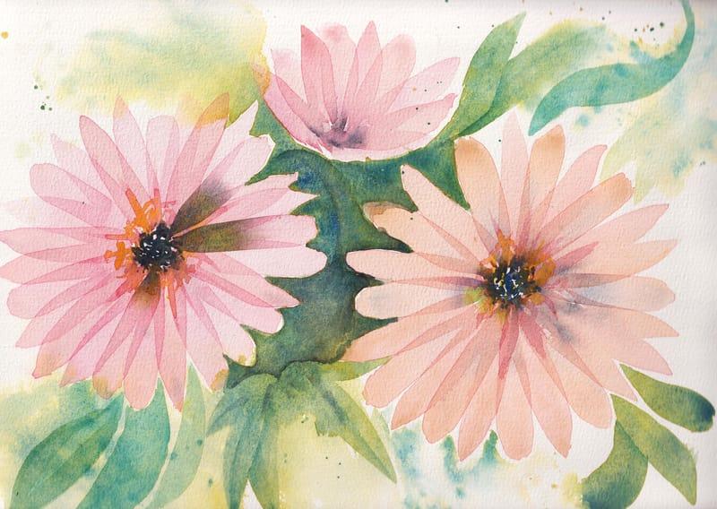 Layering petals