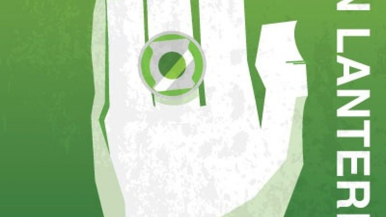 Green Lantern Poster - student project