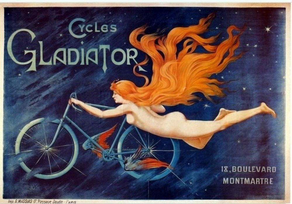 cycles gladiator poster - student project