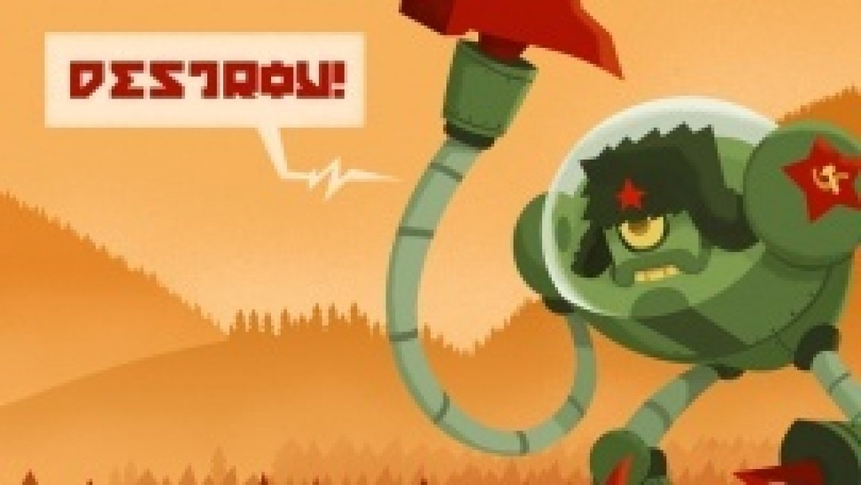 Soviet robot! - student project