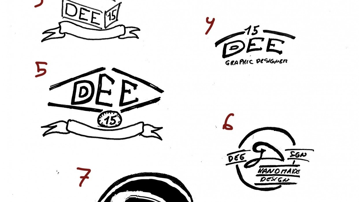 DEE personal logo - student project