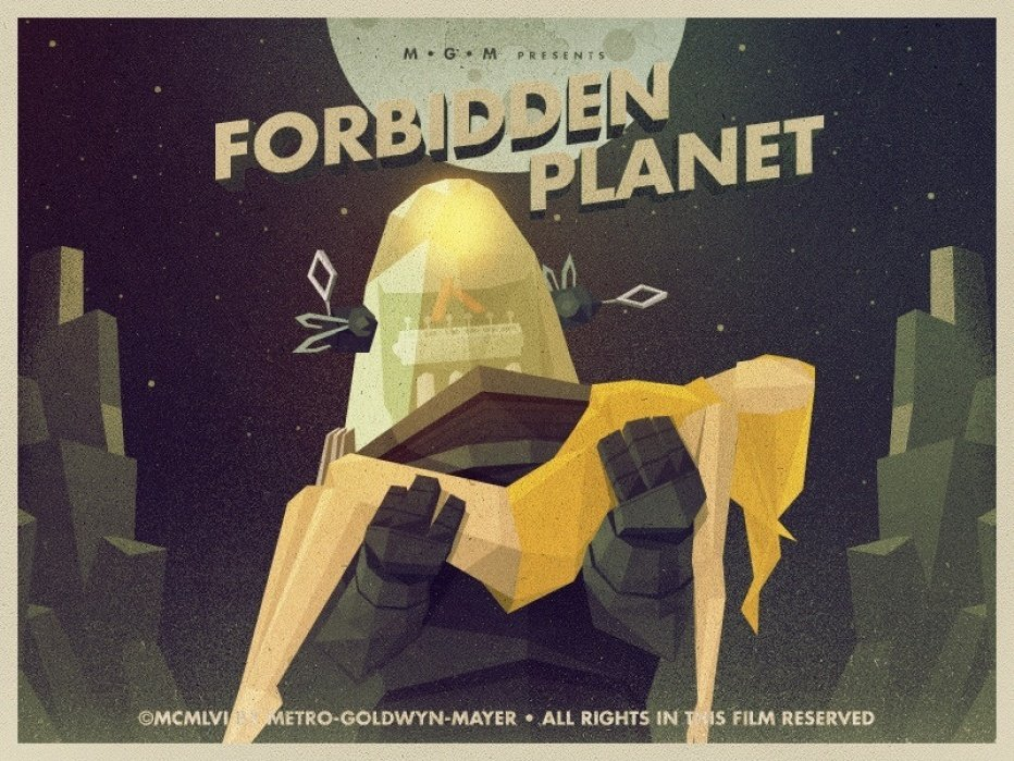 Forbidden Planet - student project