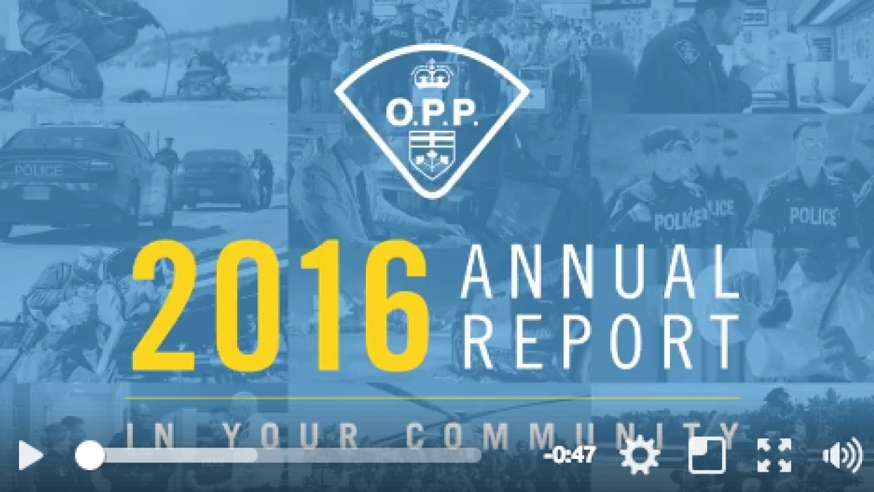 OPP Annual Report Promo Video - student project