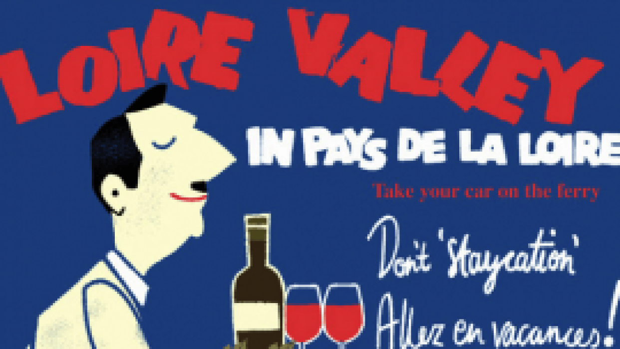 French Travel Poster - student project