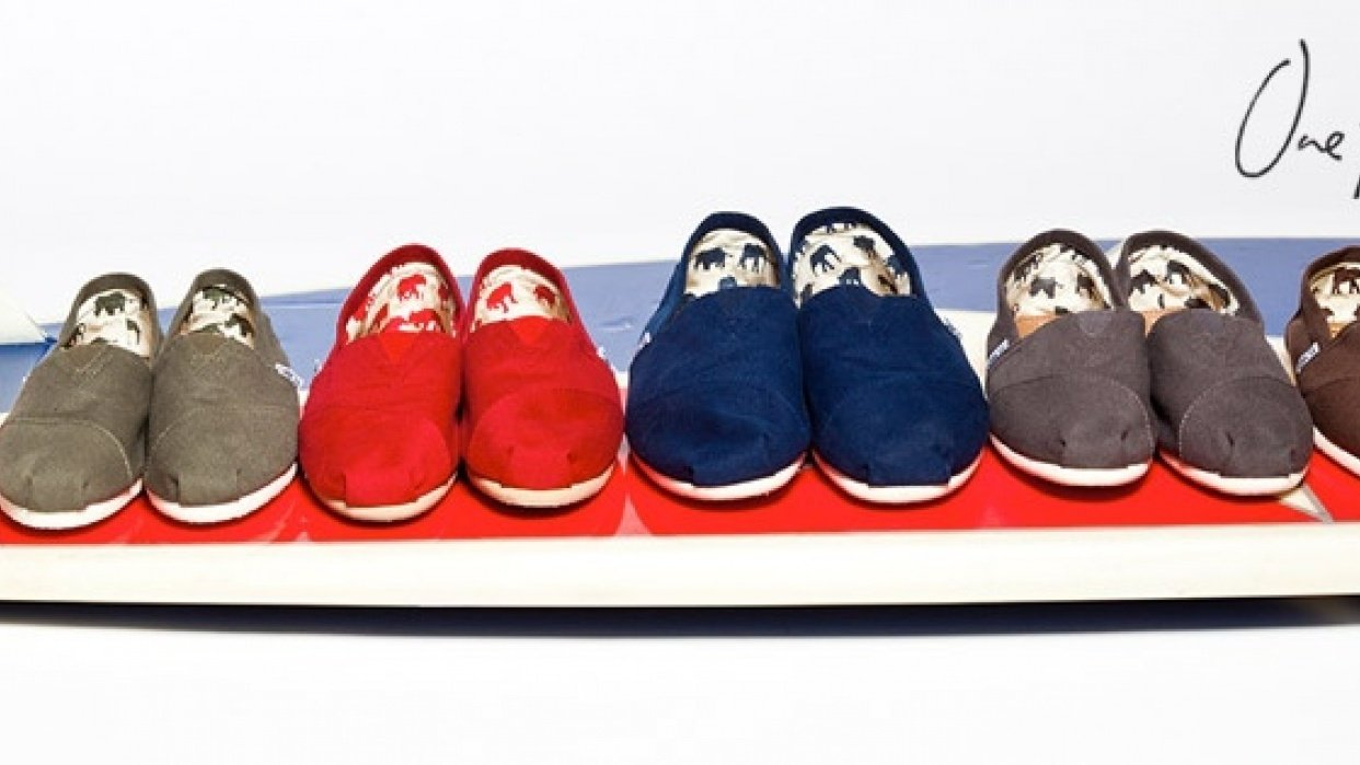 TOMS Shoes & Eyewear - One-for One - student project
