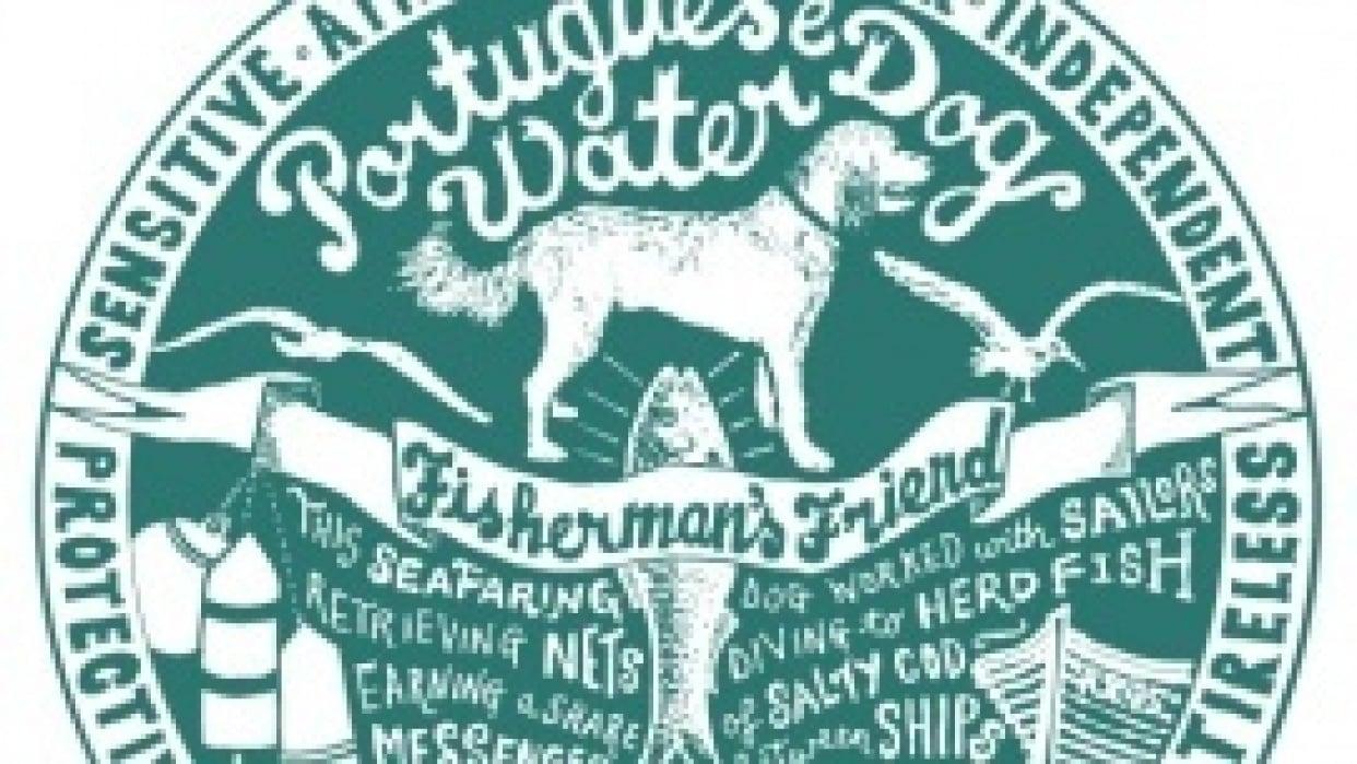 Dog Tag Art Print - student project