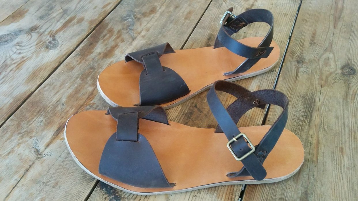 My Brown Sandals - student project