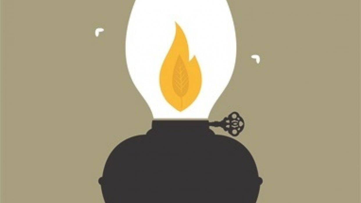 An Avett Lamp - student project