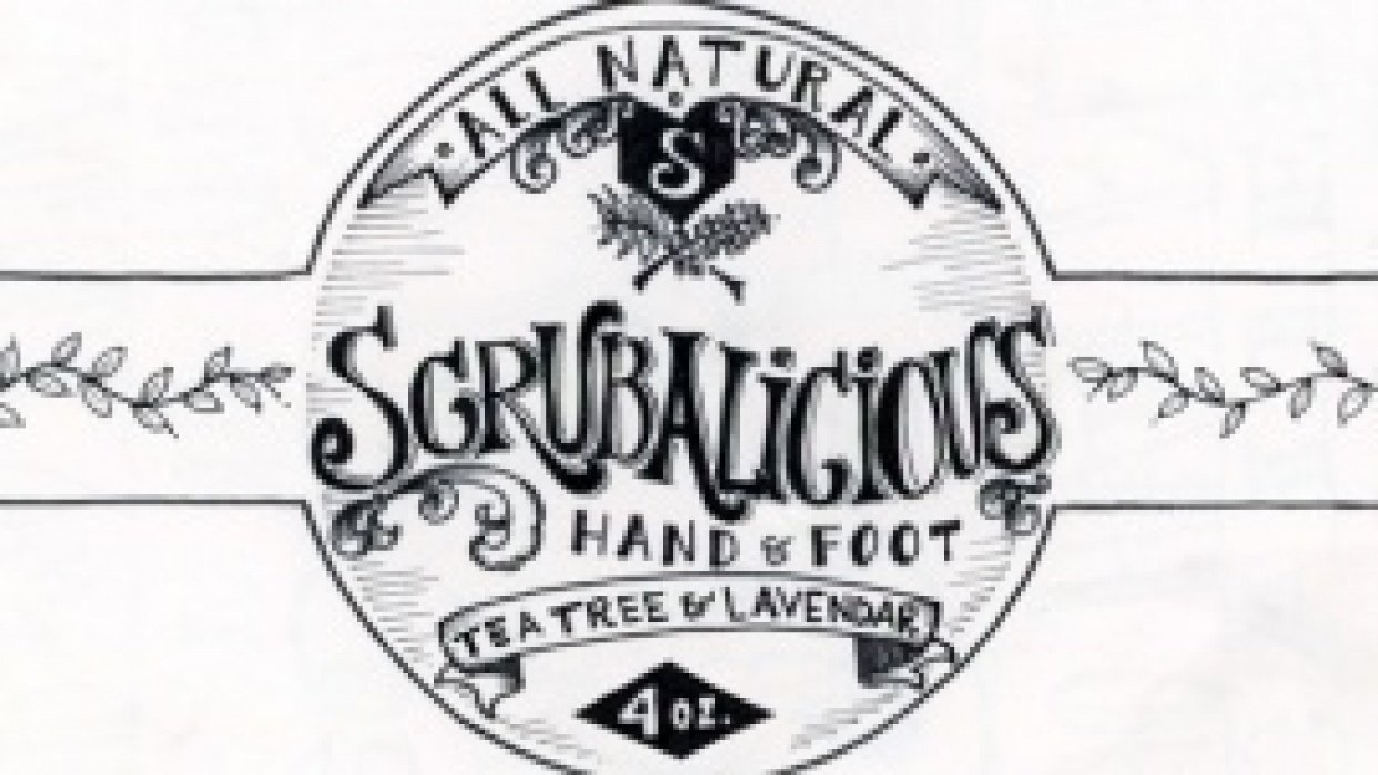 Scrubalicious Hand & Foot Therapy - student project