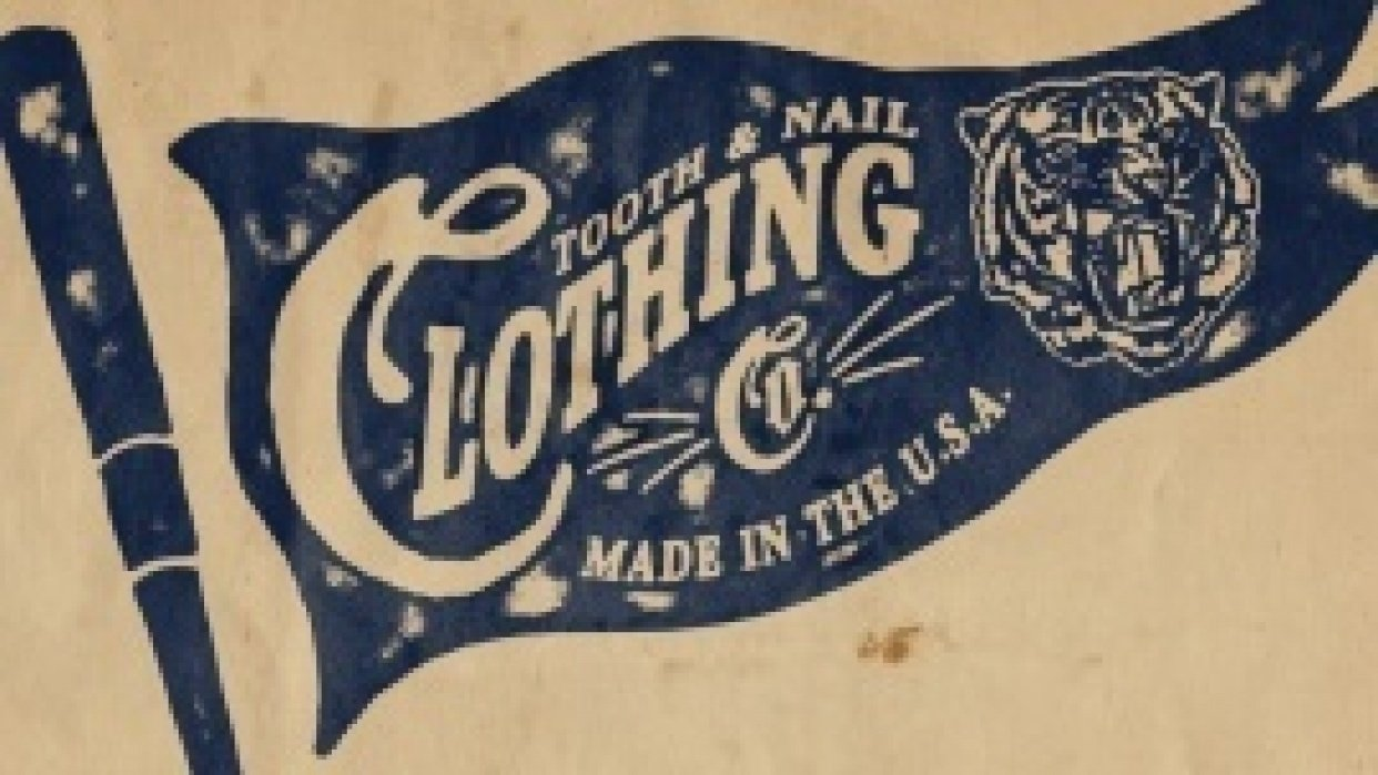Tooth and Nail Clothing Co. - student project