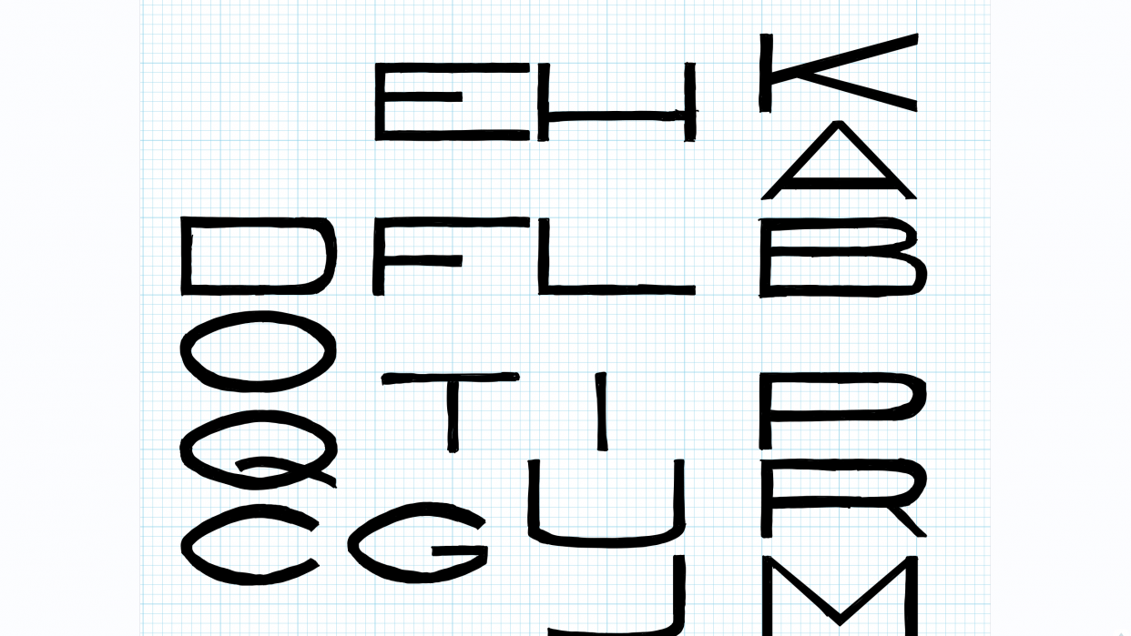 Letters 1 - student project