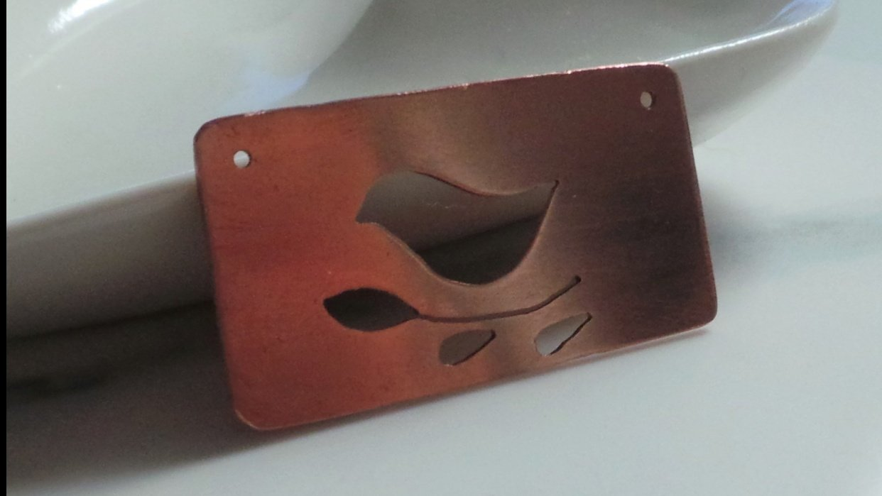 Copper practise piece - student project