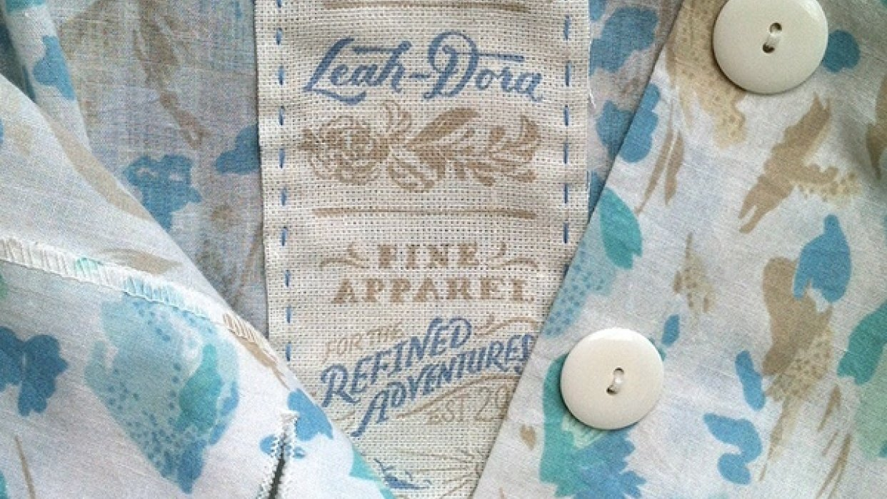 Leah-Dora Clothiers - student project