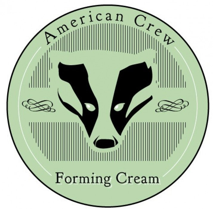 Crew - Forming Cream, label redesign - student project