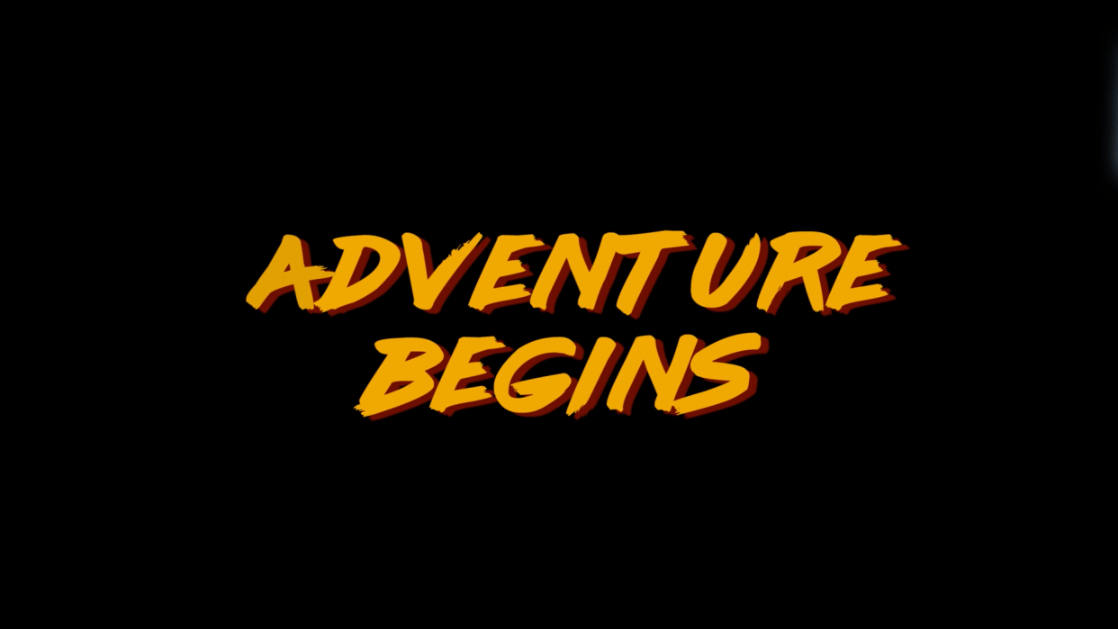 Adventure Begins - student project