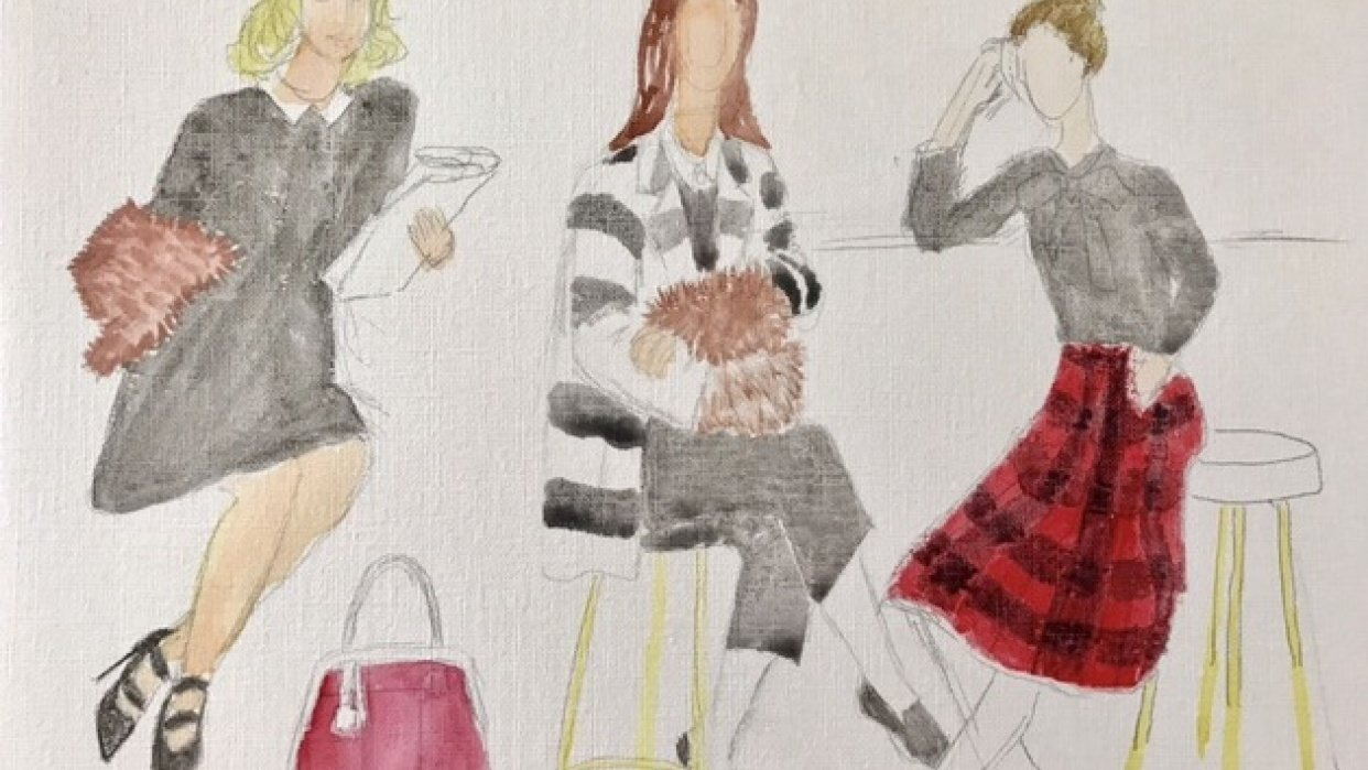 Kate Spade Fall Ad - student project