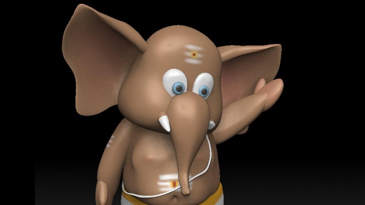 Chibi Ganesh - student project