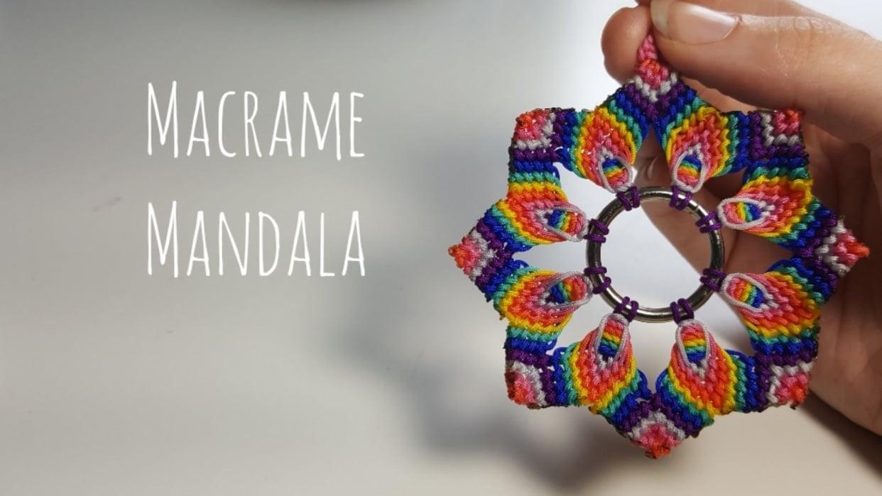 Macrame Mandala - student project