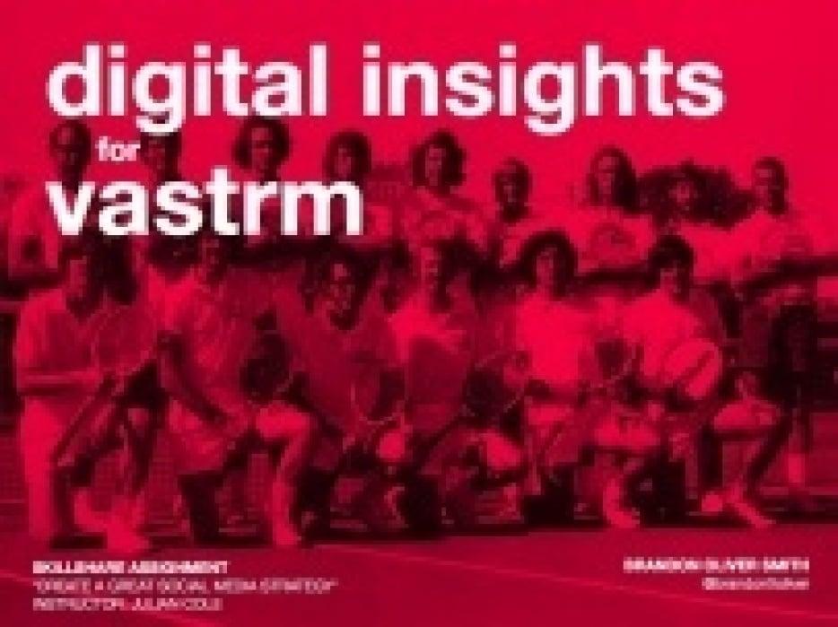 Social Media Strategy: Vastrm - student project