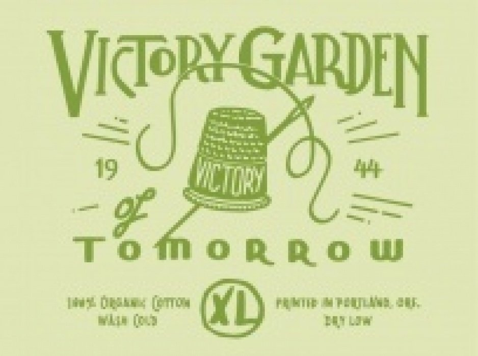 The Victory Garden of Tomorrow needs a Label - student project